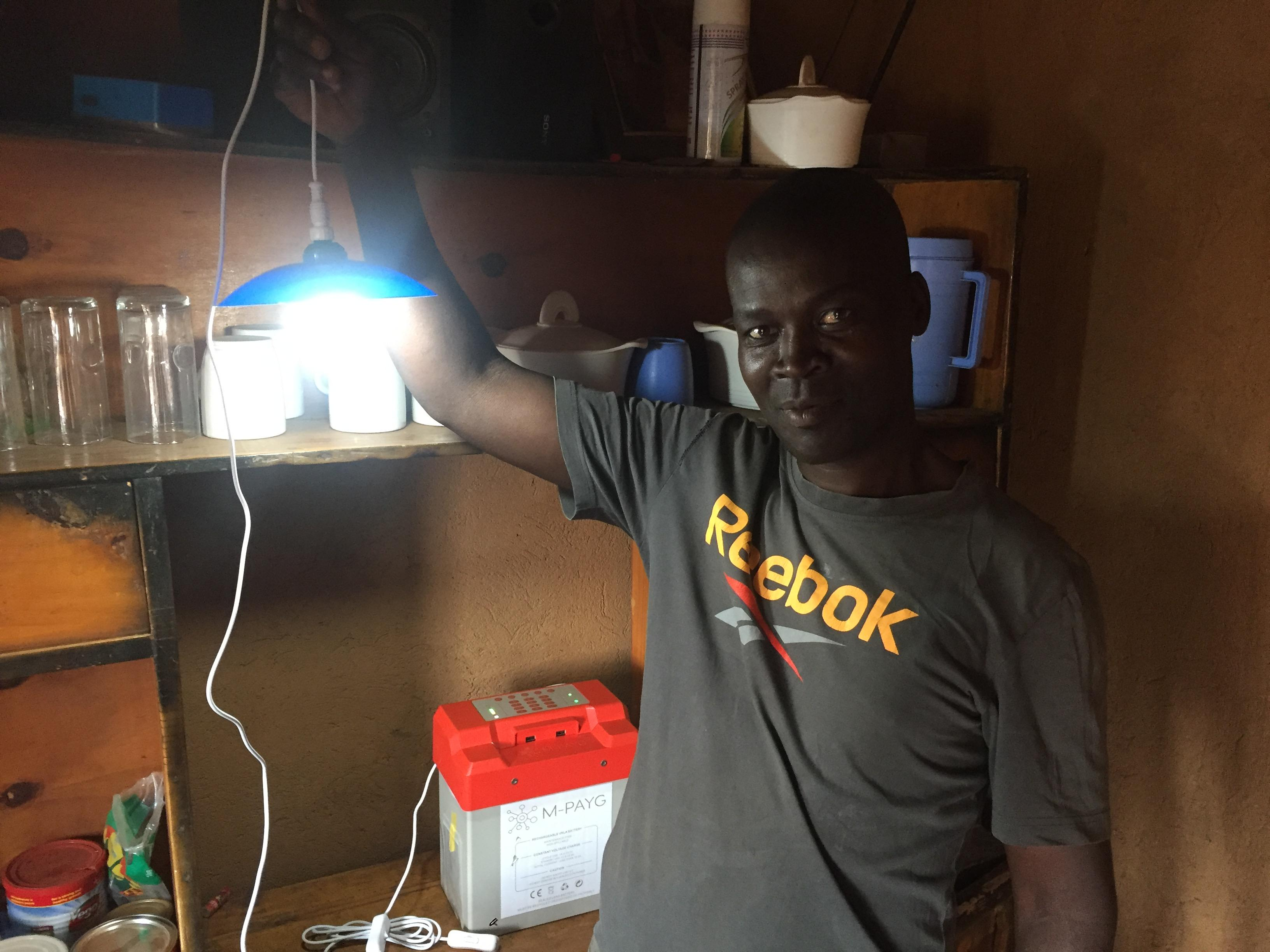 Solar home systems power enterprise and equality in Malawi