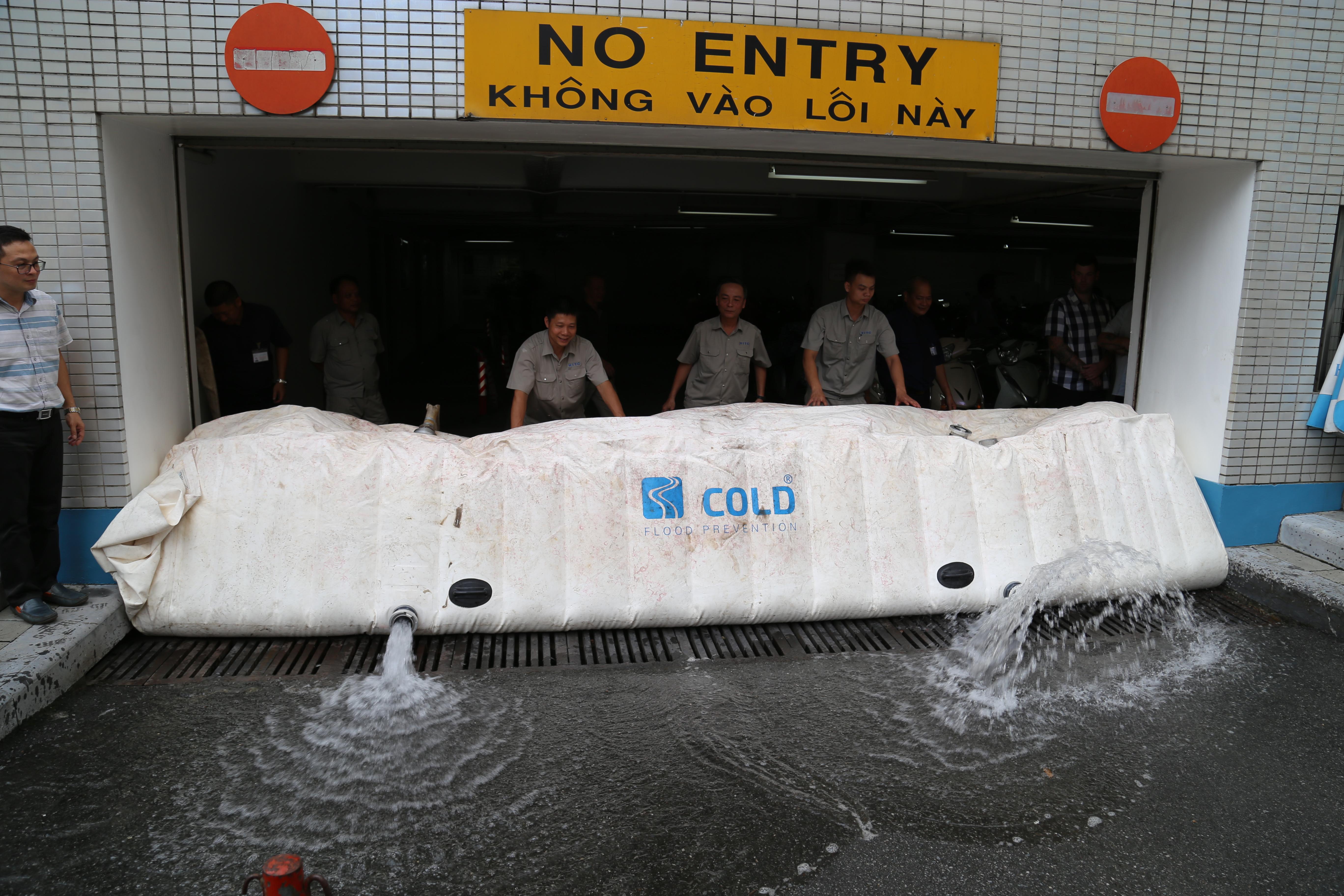 Innovative flood prevention in Vietnam